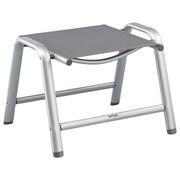 GARTENHOCKER - Anthrazit/Silberfarben, Design, Textil/Metall (51/61/43cm) - Kettler HKS