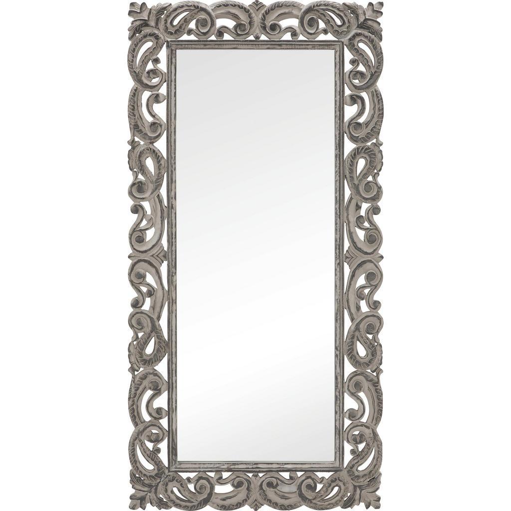 Zrcadlo 90/180/35 Cm Ambia Home - šedá
