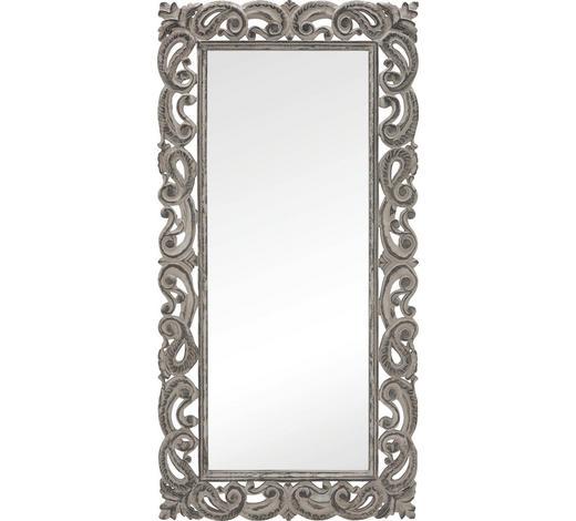 ZRCADLO, 90/180/3,5 cm,  - šedá, Trend, dřevo/kompozitní dřevo (90/180/3,5cm) - Ambia Home