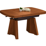 COUCHTISCH in Holzwerkstoff, Metall 90(130,5)/65/56-75 cm - Kirschbaumfarben, KONVENTIONELL, Holzwerkstoff/Metall (90(130,5)/65/56-75cm) - Venda