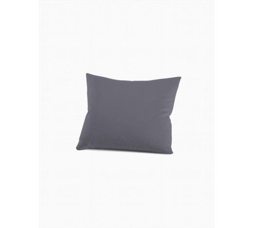 KISSENHÜLLE - Graphitfarben, Basics, Textil (40/40cm) - Schlafgut