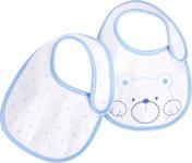 Lätzchen Doppelpack - Blau/Weiß, LIFESTYLE, Textil (15/23cm) - My Baby Lou