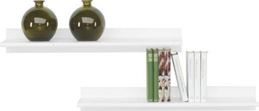 WANDBOARDSET 2-teilig Weiß - Weiß, Design (78/11/26cm) - CS SCHMAL