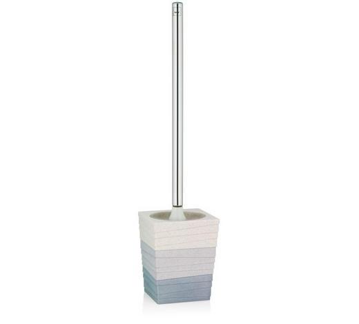 GARNITURA TOALETNE ČETKE - bež/smeđa, Design, metal/plastika (10,0/10,0/43,0cm) - Kela