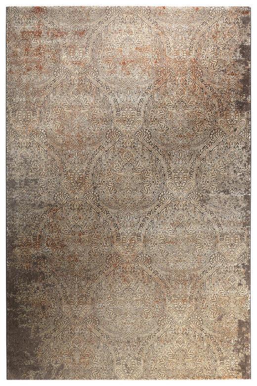 VINTAGE-TEPPICH  160/225 cm  Beige, Silberfarben - Beige/Silberfarben, Textil (160/225cm) - Novel