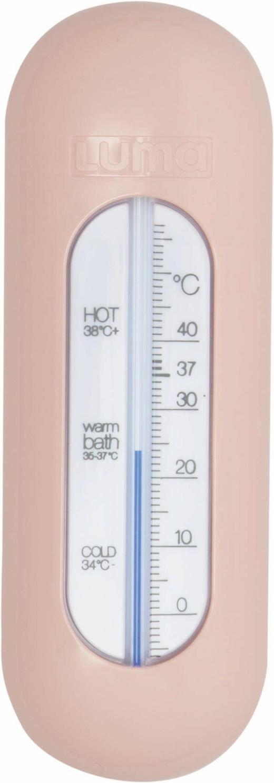Luma Badethermometer - Altrosa/Rosa, Basics, Kunststoff (14,8/5/1,3cm) - Bebe Jou