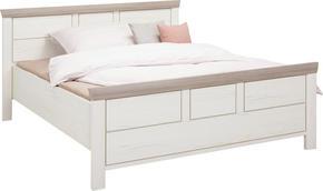 SÄNG - vit/pinjefärgad, Lifestyle, träbaserade material (140/200cm) - Hom`in