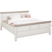 POSTEL - bílá/šedá, Lifestyle, kompozitní dřevo (140/200cm) - Hom`in