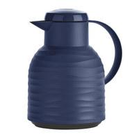 ISOLIERKANNE 1,0 L  - Dunkelblau, Basics, Kunststoff (1,0l) - Emsa