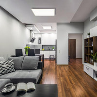 LED-PANEEL   - Weiß, Design, Kunststoff/Metall (59,5/59,5/5cm)