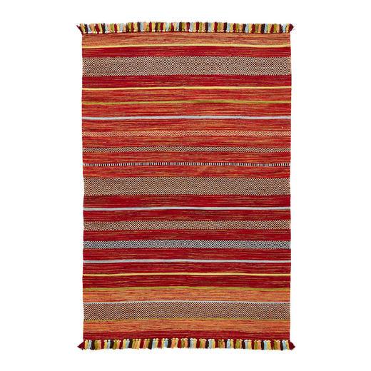 FLACHWEBETEPPICH  70/140 cm  Multicolor - Multicolor, LIFESTYLE, Textil (70/140cm)