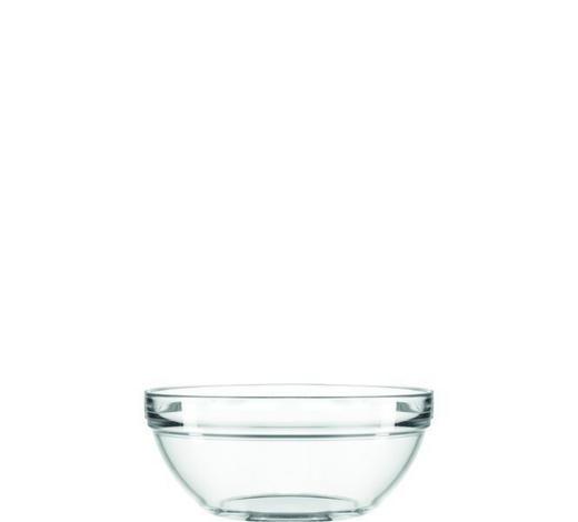 SCHALE Glas  - Klar, Basics, Glas (17/8/17cm)