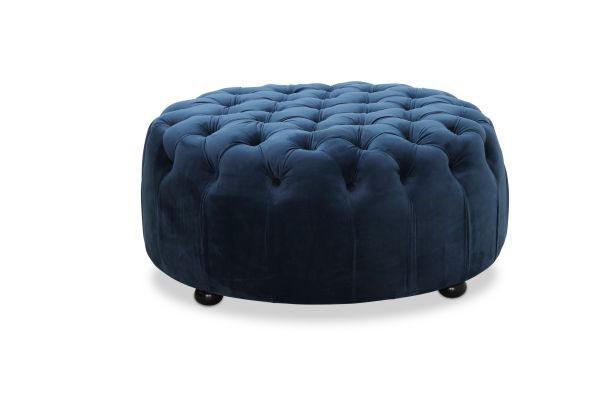 PALL - blå/svart, Klassisk, textil/plast (80/40/80cm)