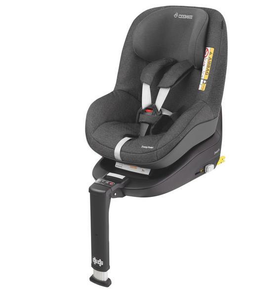 Kinderautositz 2wayPearl - Schwarz/Grau, Basics, Kunststoff/Textil (47,5/50/61cm) - Maxi-Cosi