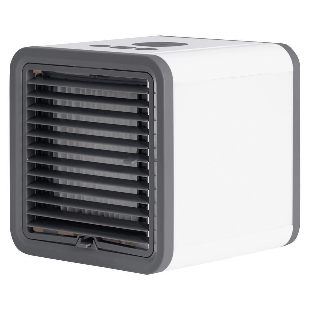 XXXLutz Luftkühler , 613-401064 , Schwarz, Weiß , Kunststoff , 16x16x6 cm , 004604051501