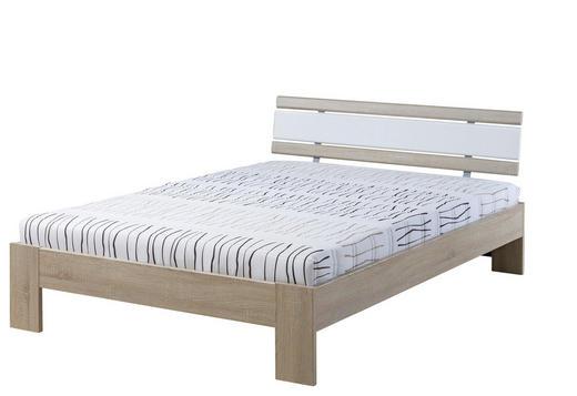 FUTONBETT 120/200 cm - Eichefarben/Weiß, Design, Textil (120/200cm) - Carryhome