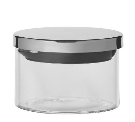 POSUDA ZA ZALIHE - boje oplemenjenog čelika/prozirno, Basics, staklo/metal (9,5/7cm) - Homeware
