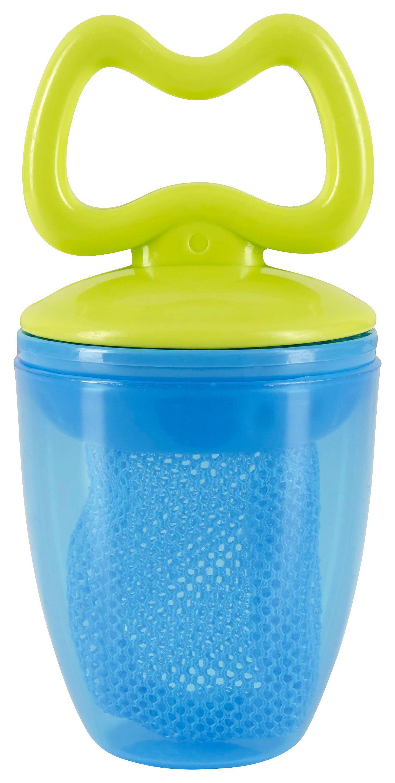 FRUKTNAPP - grön/blå, Basics, textil/plast (5,5cm) - My Baby Lou