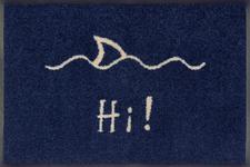 FUßMATTE 40/60 cm Texte Blau  - Blau, Basics, Kunststoff/Textil (40/60cm) - Esposa