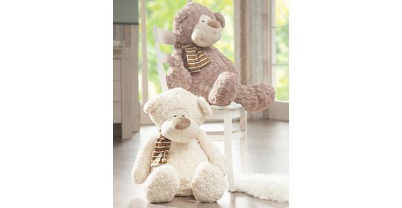 PLÜSCHTIER Teddybär - Creme/Braun, Basics, Textil (60cm) - MY BABY LOU
