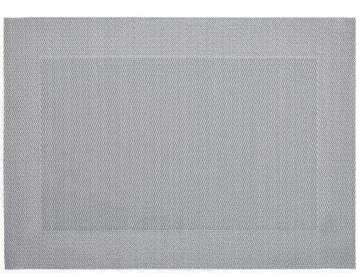 TISCHSET - Grau, Basics, Kunststoff (33/46cm) - ASA