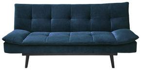 BÄDDSOFFA - blå/svart, Design, trä/textil (195/91/95cm) - Ti`me