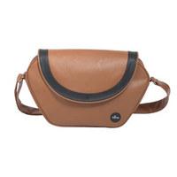 PREVIJALNA TORBA S1609-10 - rjava, Basics, tekstil (55/46/22cm) - Mima