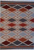 RUČNO TKANI TEPIH - višebojno, Konvencionalno, tekstil (140/200cm) - LINEA NATURA