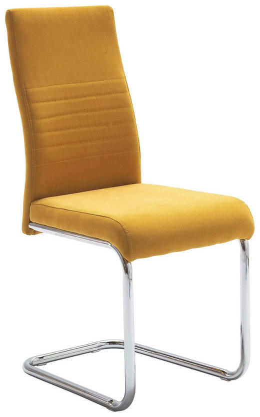 HOUPACÍ ŽIDLE, textil, žlutá, - žlutá, Design, kov/textil (43/96/59cm) - Carryhome