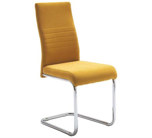 SCHWINGSTUHL Webstoff Gelb  - Gelb, Design, Textil/Metall (43/96/59cm) - Carryhome