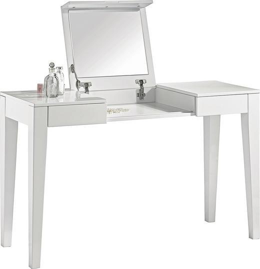 SCHMINKTISCH Weiß - Weiß, Design, Holzwerkstoff (125/75/120/45cm) - Xora