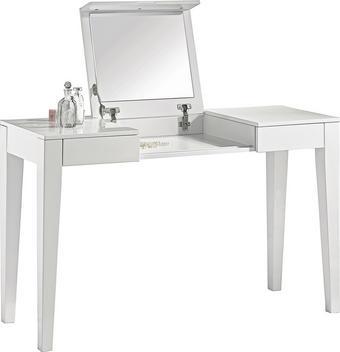 SMINKBORD - vit, Design, träbaserade material (125/75/120/45cm) - Xora