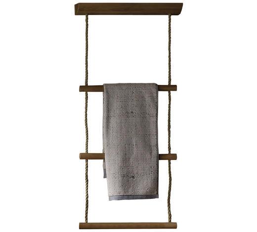 HANDTUCHLEITER - Eichefarben, KONVENTIONELL, Holz (48/109/16cm) - Voglauer
