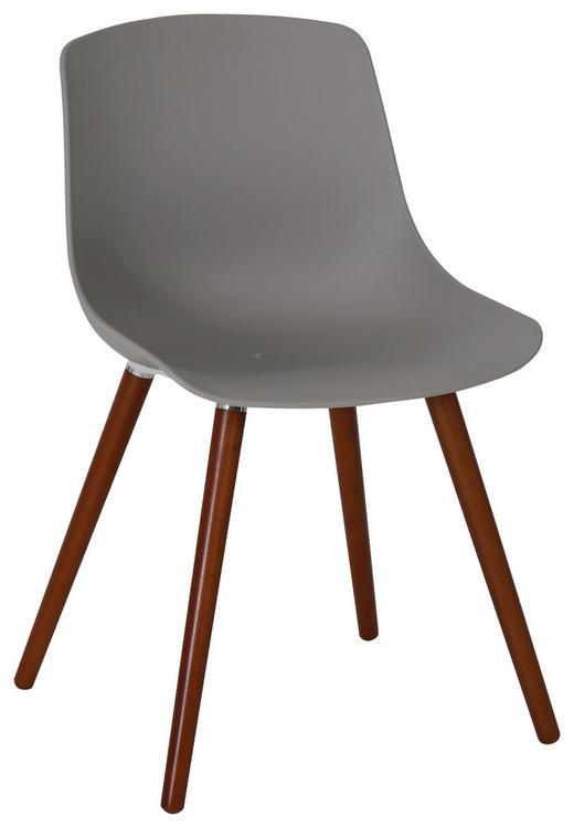 GARTENSTUHL Akazie massiv - Anthrazit/Naturfarben, Design, Holz/Kunststoff (52/81/58cm) - AMBIA GARDEN