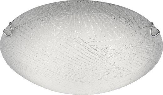 LED-DECKENLEUCHTE - Weiß, Basics, Glas/Metall (30/9cm) - Boxxx