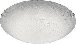 LED-DECKENLEUCHTE - Weiß, Design, Glas/Metall (30/9cm) - BOXXX