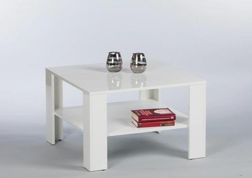 COUCHTISCH Weiß - Weiß, KONVENTIONELL (70/70/44cm) - Carryhome
