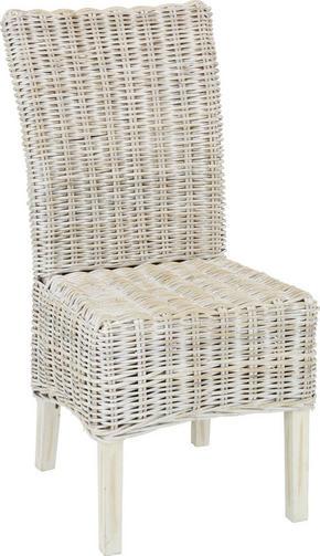 STOL - grå, Lifestyle, trä (54/100/46cm) - Zandiara