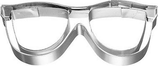 KEKSAUSSTECHFORM - Edelstahlfarben, Basics, Metall (8/2,5/2,8cm) - Birkmann