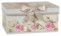 AUFBEWAHRUNGSBOX 20/14/10 cm  - Multicolor/Naturfarben, Basics, Karton/Papier (20/14/10cm) - Boxxx