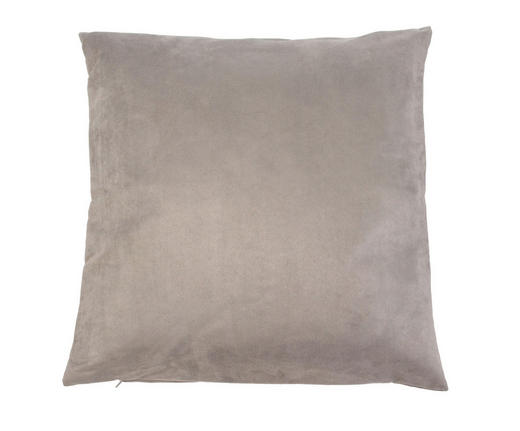 KISSENHÜLLE Taupe 40/40 cm - Taupe, Basics, Textil (40/40cm)