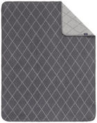 SCHMUSEDECKE - Dunkelgrau/Hellgrau, Basics, Textil (75/100cm) - My Baby Lou