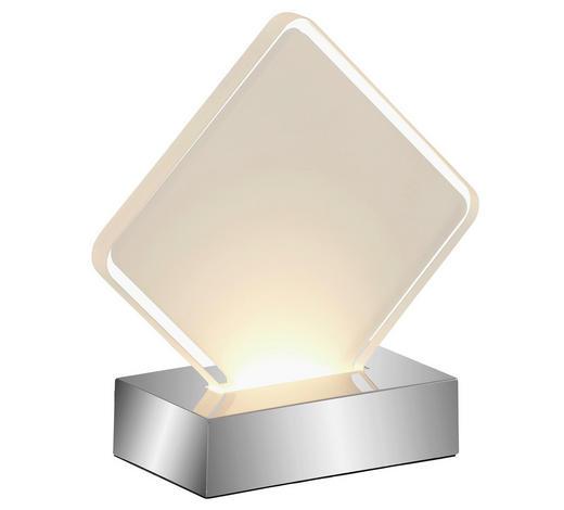LED-TISCHLEUCHTE   - Chromfarben, KONVENTIONELL, Kunststoff (15/6/15cm) - Boxxx