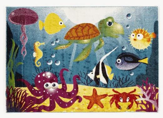 KINDERTEPPICH  140/200 cm  Multicolor - Multicolor, Basics, Textil (140/200cm) - Ben'n'jen