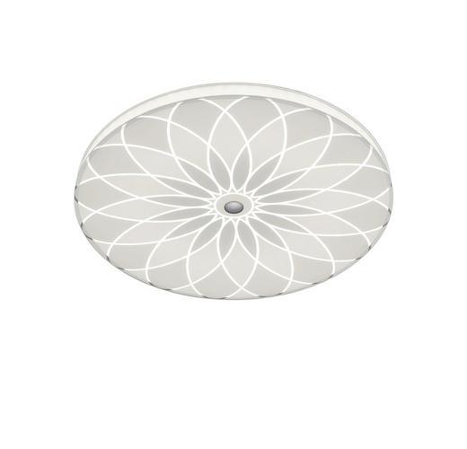 DECKENLEUCHTE - Weiß, Design, Glas/Metall (52/5,5cm) - Bankamp