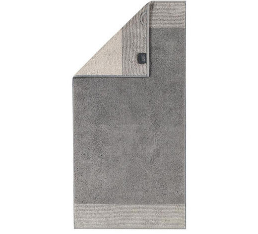 GÄSTETUCH Graphitfarben 30/50 cm  - Graphitfarben, Design, Textil (30/50cm) - Cawoe