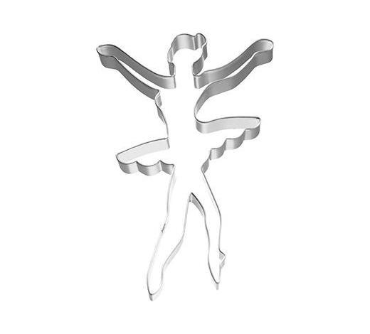 KEKSAUSSTECHFORM - Edelstahlfarben, Basics, Metall (7,15/2,5/11cm) - Birkmann