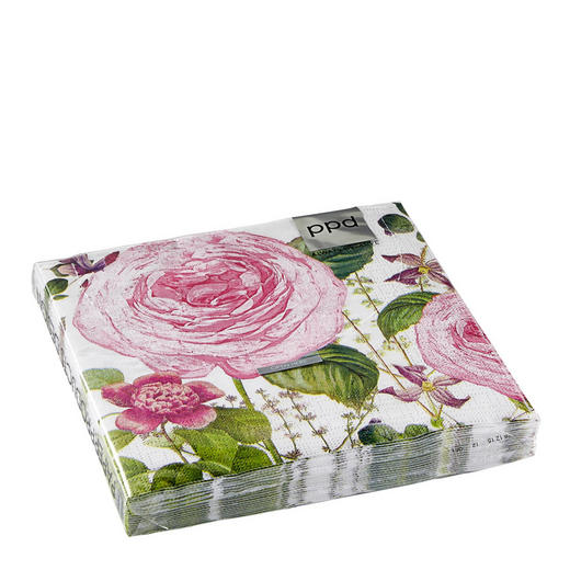 SERVIETTE - Multicolor, Basics, Papier (33/33cm)