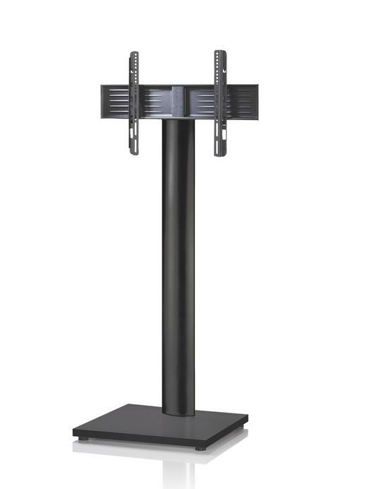TV-RACK Metall Schwarz - Schwarz, KONVENTIONELL, Metall (68/174/60cm)