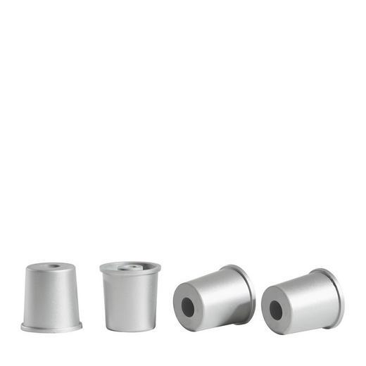FUßSET Grau - Grau, Design, Kunststoff (4,50/4,5/4,50cm) - Carryhome